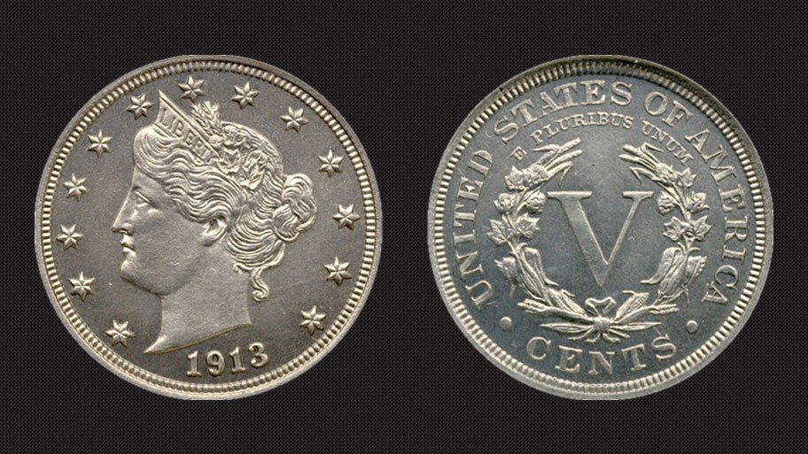 1913 Liberty Head V Nickel