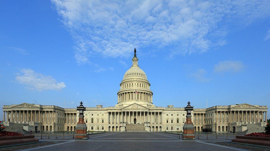 US Capitol - financial privacy